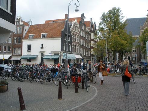 Kolesa v Amsterdamu