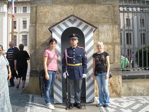 Stražar na praškem gradu