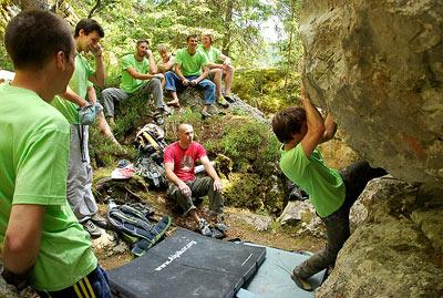 CCCT plezanje po boulderjih