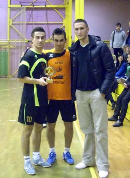 Najboljši posameznik turnirja - Samir Nuhanović (Donat)