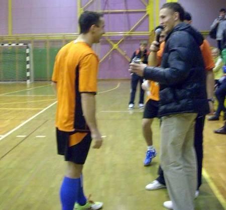 Najboljši strelec turnirja - Robert Pevec
