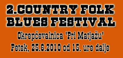 Country folk blues festival