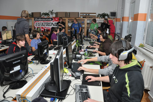 Utrip na Lan party-ju